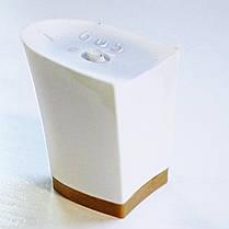 Каблук женский пластиковый 605 белий р.1,3  h-5.0 , 5.6 см., фото 3
