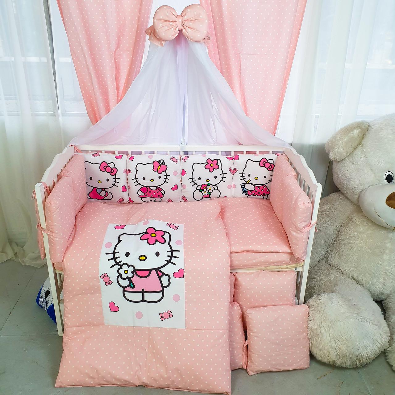 Детская постель Подушки Hello Kitty 8 элементов (цвета в ассортименте)Бесплатная доставк