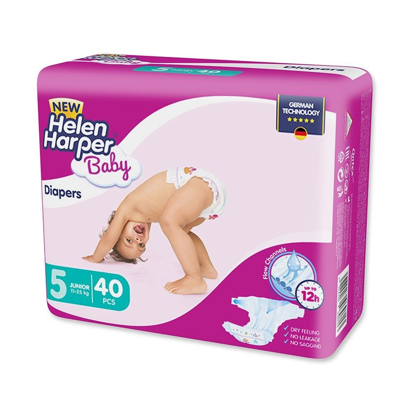 Подгузники Helen Harper Baby Junior 5 (11–25кг), 40шт