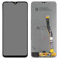 Дисплейный модуль (экран и сенсор) для Samsung Galaxy M20 M205 F/DS, черный, оригинал