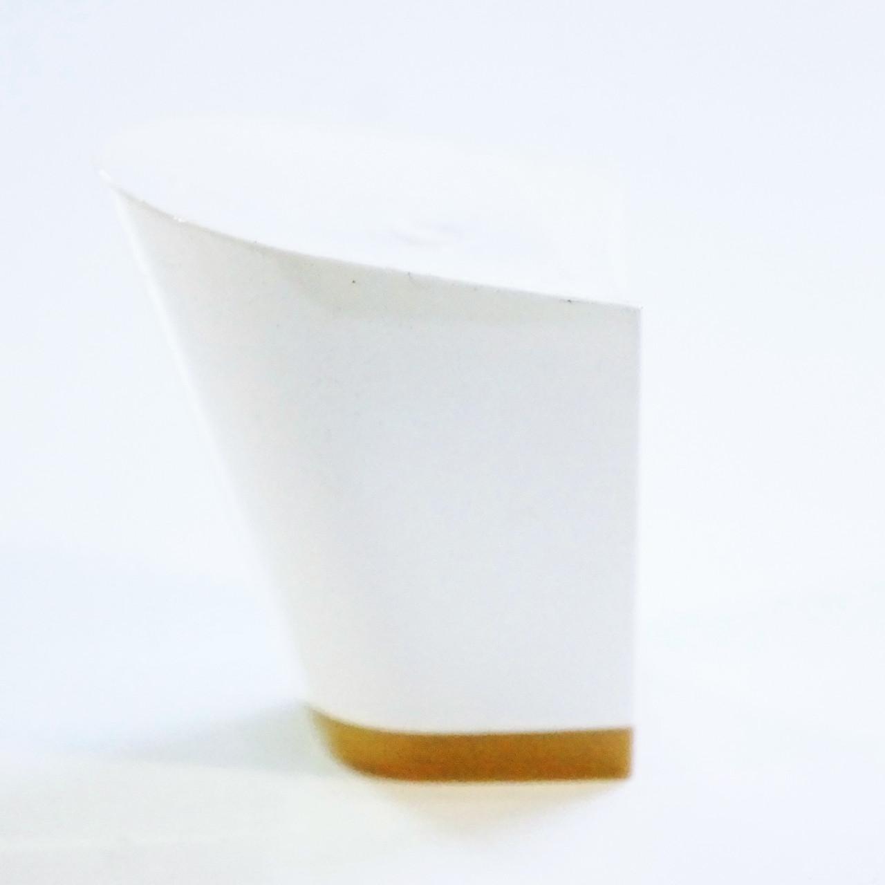 Каблук женский пластиковый 607 белий р.1-2  h- 5,2-5.4 см.