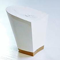 Каблук женский пластиковый 607 белий р.1-2  h- 5,2-5.4 см., фото 3