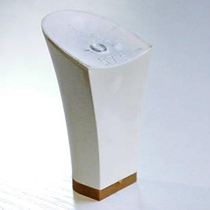 Каблук женский пластиковый 575 белий р.1-3  h-7.6-8.2 см., фото 2