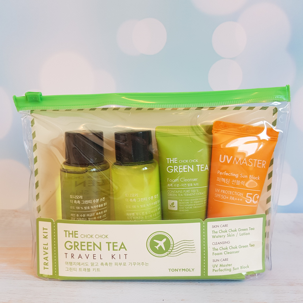 Дорожный набор TONYMOLY The Chok Chok Green Tea Travel Kit