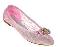 Стильные Женские балетки, лодочки туфли , туфли, на плоской подошве от производителя  розового цвета! Очень легкие и удобные!