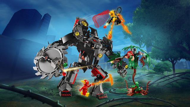 """Конструктор Bela 11234 """"Робот Бэтмена против робота Ядовитого Плющаа"""" купить"""