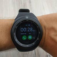 Умные смарт часы телефон Smart Watch c громкой связью черные