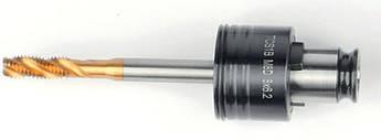 Швидкозмінний патрон для мітчиків  2,8x2,1  для DIN352 M2-M2,5 / DIN371 M2-M2,5 / DIN376 M4 GSR Німеччина