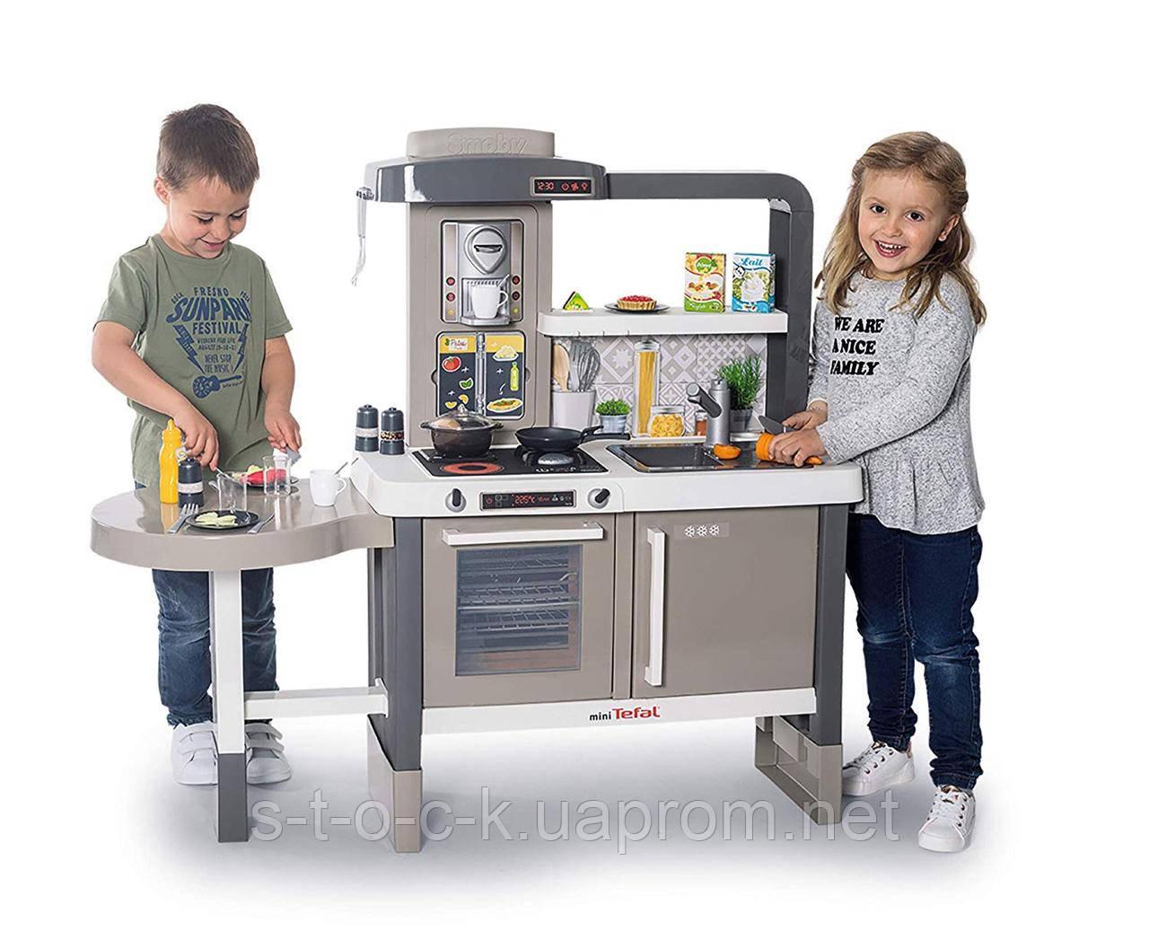 Дитяча інтерактивна кухня mini Tefal Evolutive SMOBY 312300