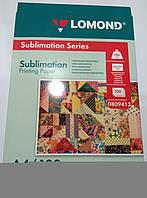 Бумага сублимационная Lomond А4 100 гр 100 л