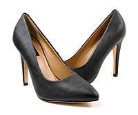 Стильные Удобные и модные женские туфли черного цвета на шпильке!
