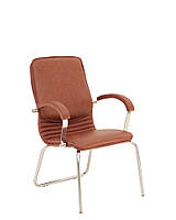 Конференционные кресла NOVA steel CFA LB chrome Экокожа ECO