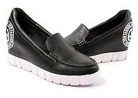 Стильные спортивые Удобные и модные женские туфли на платформе черного цвета!