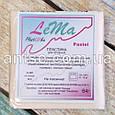 Полимерная глина Lema Pastel, №0601 ванильно-бежевая, 64 г / Полімерна глина Lema Pastel, №0601 ванільно-бежев, фото 2
