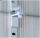 Система размещения мебельных полок на различнойвысоте F3M (шаг 25 мм) IL MULTILIVELLO: КРОНШТЕЙН ДЛЯ ДСП