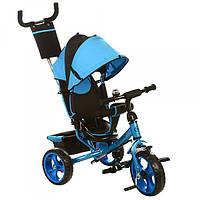 Трехколесный велосипед Turbo Trike M 3113-5, колеса EVA, голубой
