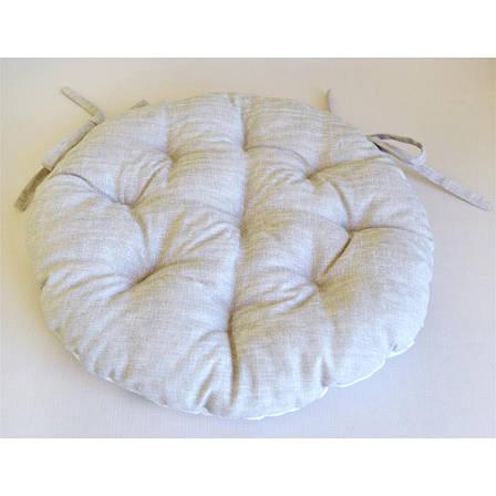 Подушка на стілець Оливка кругла D-40см, фото 2