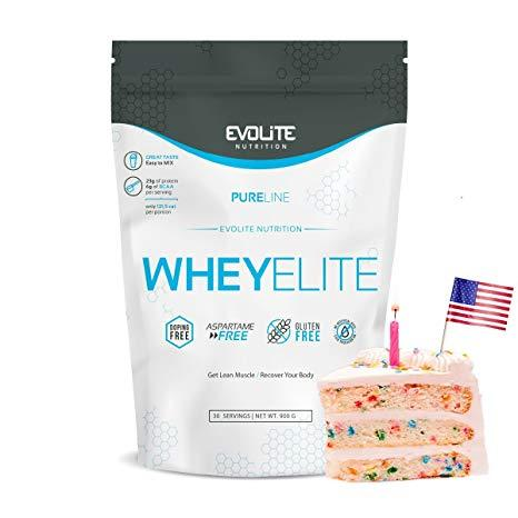Протеин Evolite Nutrition WheyElite  900g (Apple Pie)