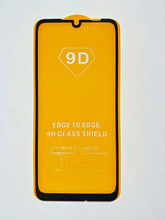 Захисне скло 9D для Xiaomi Redmi Note 7 / Note 7 Pro Full Glue Чорне