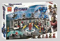 """Конструктор Bela 11260 Super Heroes """"Лаборатория Железного человека"""", 560 деталей. Аналог Lego 76125"""