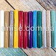 Полимерная глина Lema Glitters Набор 12 цветов / Полімерна глина  Lema Glitters Набір 12 кольорів, фото 3