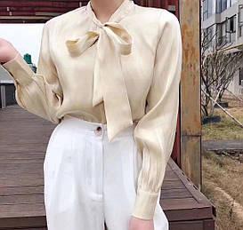 Стильная женственная блуза 44-46 (в расцветках )