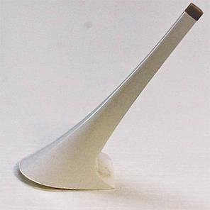 Каблук женский пластиковый 9112 белый р.1-3  h-12,0-12,8 см., фото 2