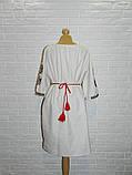 Платье-вышиванка из льна 54 р., фото 3