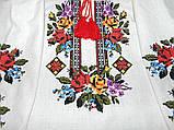 Платье-вышиванка из льна 54 р., фото 4