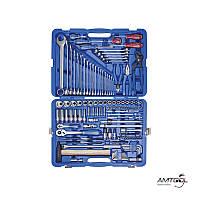 """Набор инструментов, 128 ед., 1/4""""+1/2"""" - King Tony 7528MR01"""