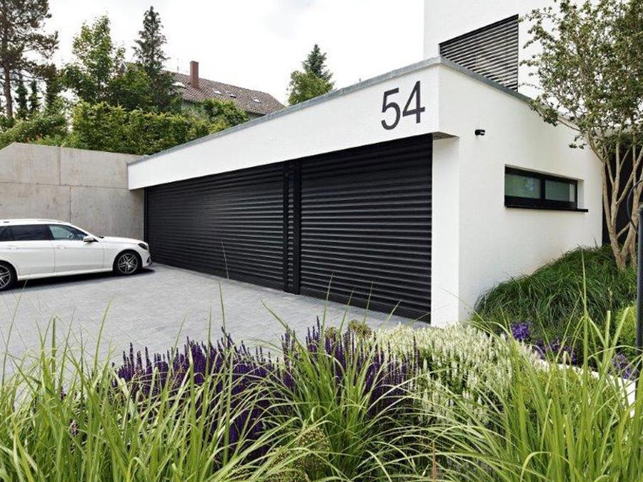 Автоматические защитные роллеты для гаража