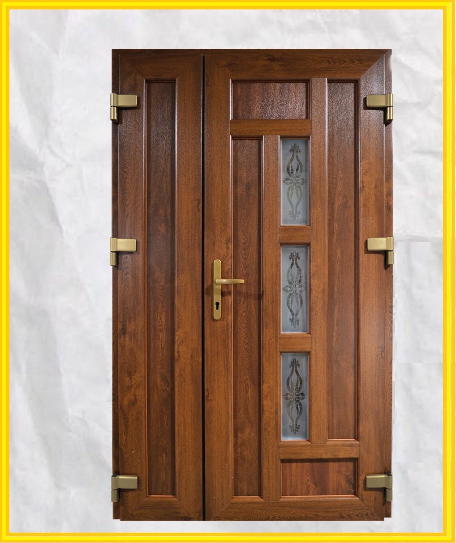 Металлопластиковые двери входные 1200 с окном