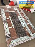 Металлопластиковые двери входные 1200 с окном, фото 6