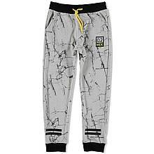 Детские спортивные штаны для мальчика MEK Италия 163MHBM001 Серый весеннии осенью демисезонные