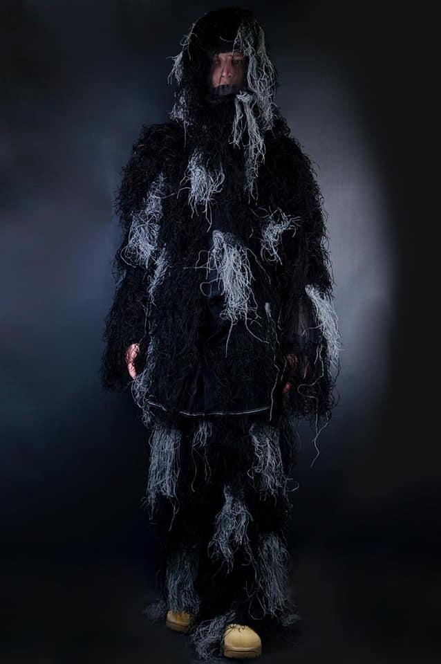 Маскировочный костюм Ghillie NightKamo Miltec