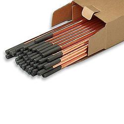 Угольные электроды с медным покрытием D10,0 х 305мм, 600А (50)