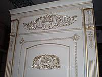 Деревянные накладки на двери в классическом стиле