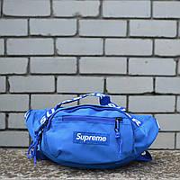 Поясная сумка Бананка Supreme blue, фото 1