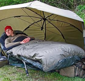 Спальні мішки для коропової риболовлі