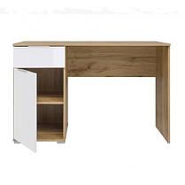 Письмовий стіл BIU/120Злата Дуб тахо/Білий (БРВ-Україна ТМ), фото 2
