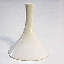 Каблук женский пластиковый 6518 белый  р.1-3  h-6,5-7,0 см., фото 3