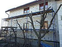 Леса рамные для строительных работ облегченные комплект 4 на 9 метров