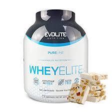 Протеин Evolite Nutrition WheyElite  2270g  (Nougat)