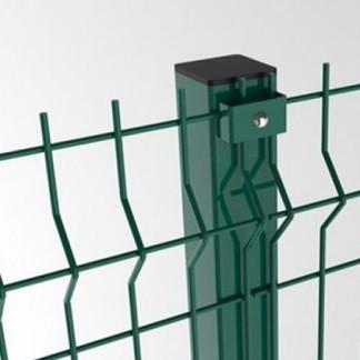 Столб 60х40 оцинкованный в полимерном покрытии, фото 1