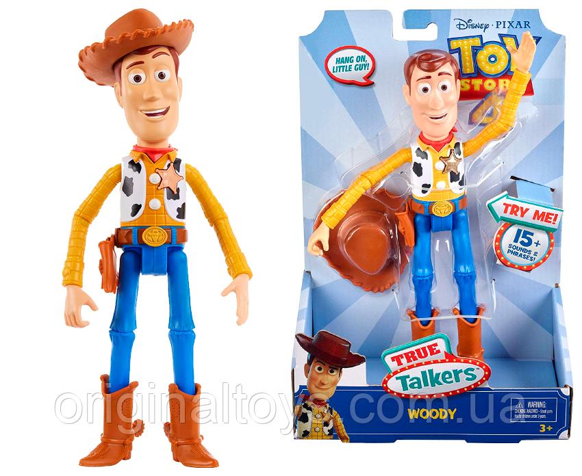 Говорящая фигурка Шериф Вуди История Игрушек Disney Pixar Toy Story 4 Mattel