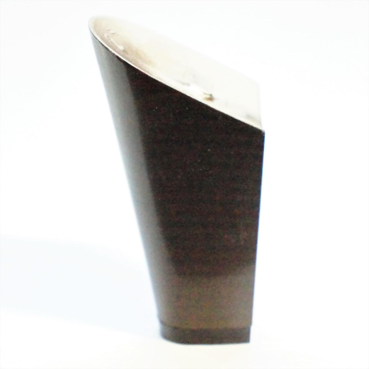 Каблук женский пластиковый 9517 коричневый р.2-4  h-9,0-9,7 см.