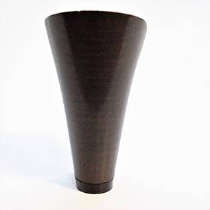 Каблук женский пластиковый 9517 коричневый р.2-4  h-9,0-9,7 см., фото 2