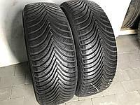 Шины бу зимние 205/55R16 Michelin ALPIN 5 (7мм) 2шт