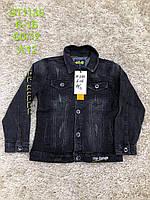 Джинсовая куртка-пиджак для мальчиков S&D 6-16 лет