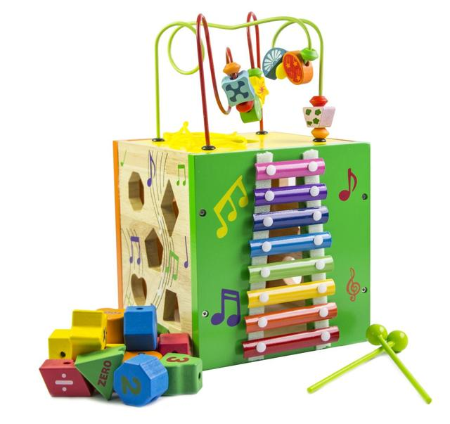 Деревянная игрушка-сортер